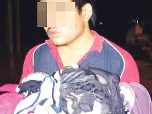 Pencuri Pakaian Dalam Diberkas Di Bentong