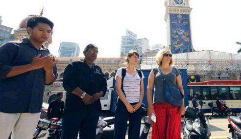 Ribuan Warga Kota Zahirkan Kehibaan Di Dataran Merdeka