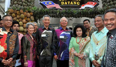 Lee Hsien Loong Balas Layanan Baik Najib
