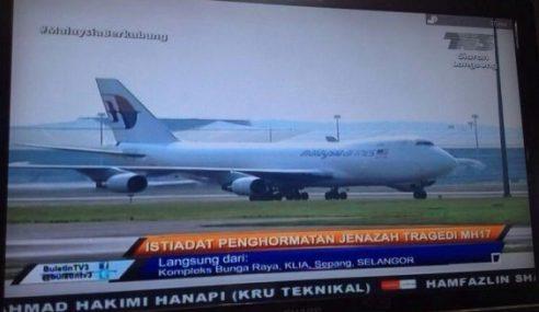 MH17: Pesawat MH6129 Mendarat Di KLIA