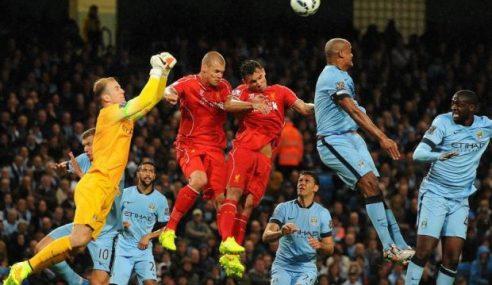EPL: Manchester City Benam Liverpool 3-1