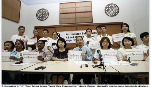 Melampau!! NGO Macha Dan Ah Beng Bagi Arahan Pada Sultan