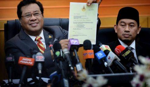 Sultan Selangor Perkenan Surat Pecat Exco Dalam Tempoh 2 Jam