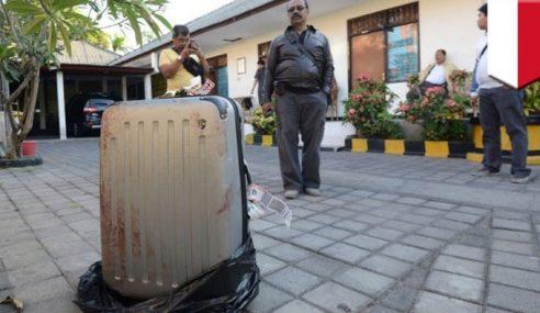 Mayat Pelancong AS Disumbat Dalam Beg Pakaian