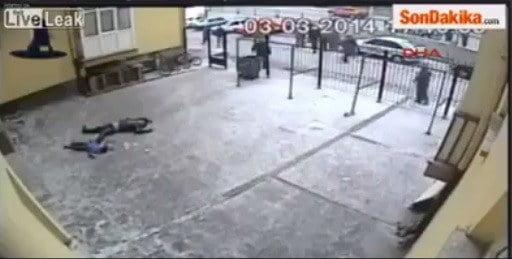 VIDEO: Rakaman Kejadian Bunuh Dan Bunuh Diri Di Turki