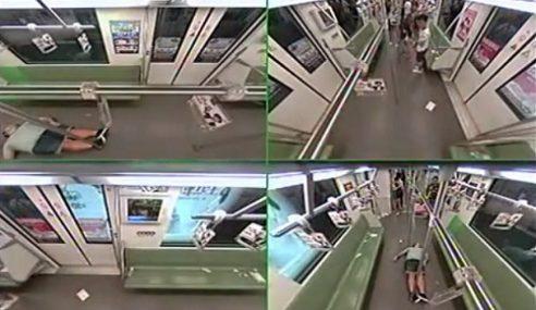 VIDEO: Punyalah Takut Rakyat China Nak Bantu Orang…