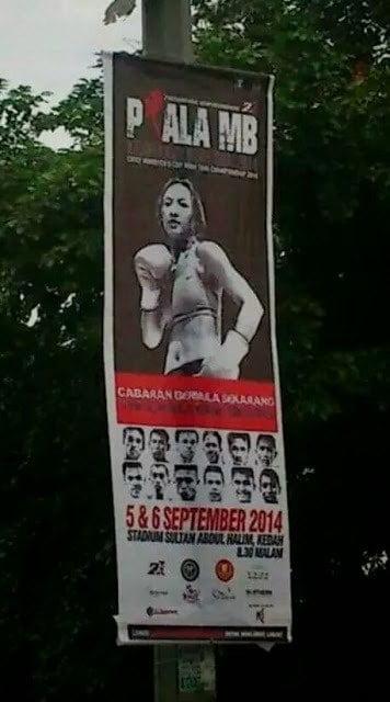Gadis Seksi Pada Banting Acara Muay Thai Calar Imej MB Kedah