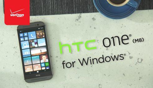 HTC One M8 Versi Windows Diumumkan Hari Ini