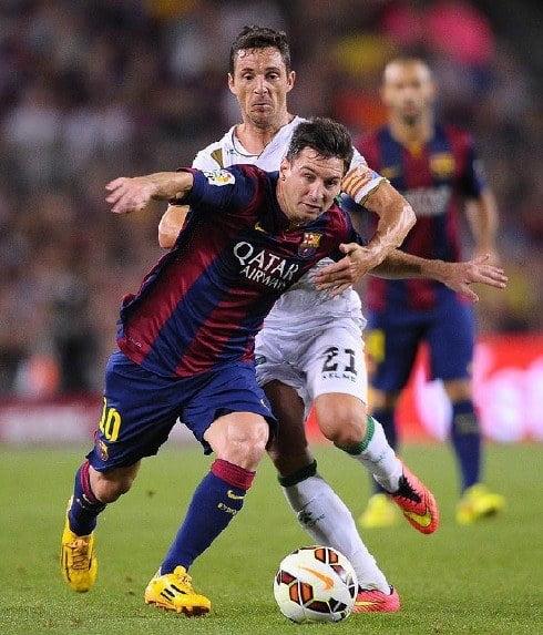 La Liga: Messi Ledak 2 Gol Bantu Barcelona Benam Elche
