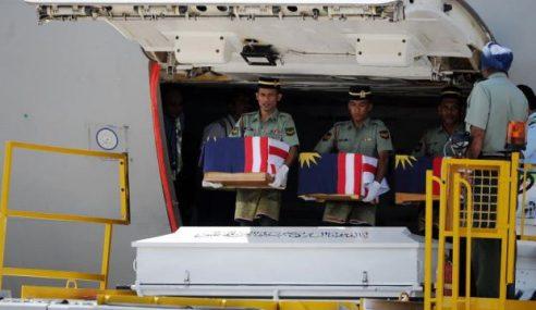 MH17: Senarai Nama 20 Jenazah Dibawa Pulang