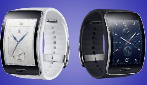 Jam Pintar Samsung Gear S Dengan Ruangan SIM