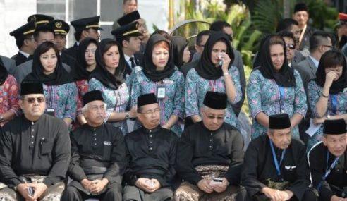 MH17: Seluruh Negara Bertafakur Seminit