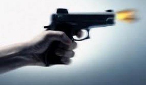 Polis Tahan Lelaki Amuk, Lepas Tembakan Di Rantau Panjang