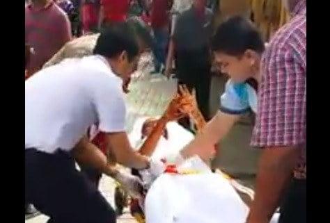 VIDEO: Kejadian Pekerja Medan Selera Disimbah Minyak Panas