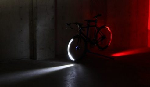 Revolights : Lampu Basikal Yang Cool
