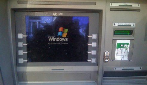 Cubaan Larikan Wang Dari Mesin ATM Gagal