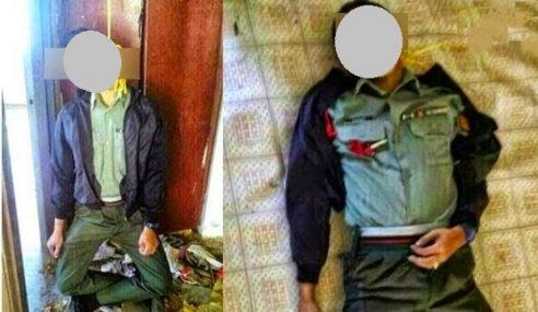 GAMBAR: Tentera Ditemui Mati Gantung Diri Di Rumah Kosong