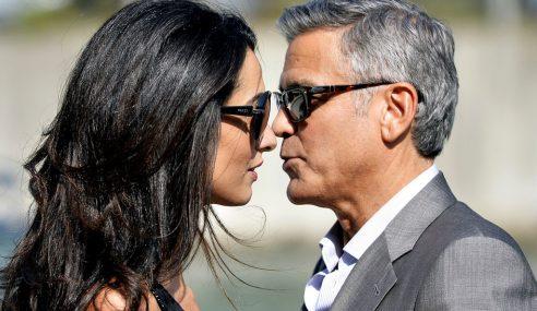 George Clooney Kahwini Tunang, Amal Alamuddin Di Venice