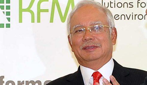 PM Tiba Di Kuching Untuk Hadiri TDC SUPP 2014