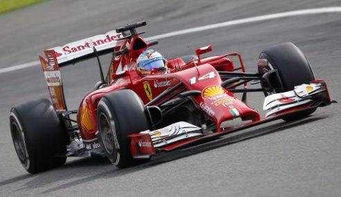 Fernando Alonso: Jentera Ferrari 'Bosan'