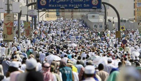 Lebih 100 Sukarelawan Bantu Jemaah Haji Semasa Masyair