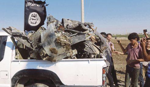 IS Tembak Jatuh Pesawat Syria