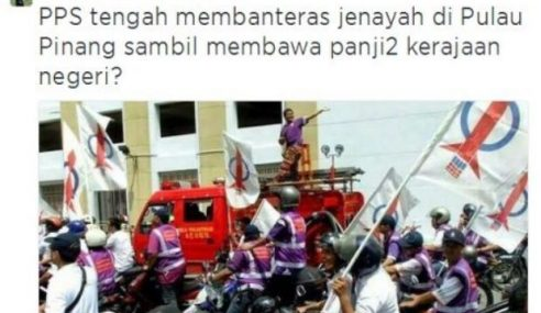 """Pasang Bendera DAP Kira Banteras Jenayah?"" – Khairy"