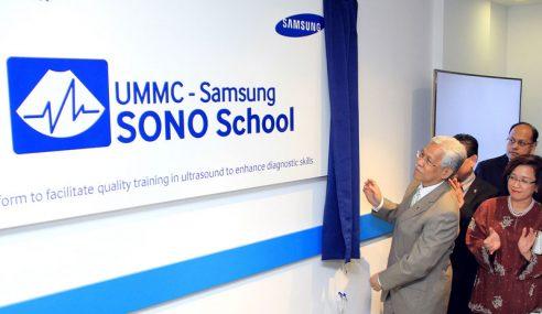 Samsung Tubuh Sekolah Khusus Untuk Latih Pakar Ultrasound