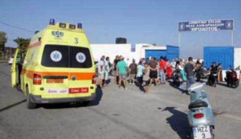 Penyokong Bola Sepak Greece Maut Diserang