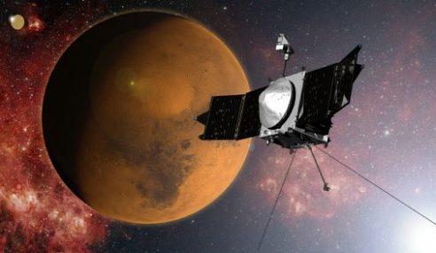 Kapal Angkasa NASA Kelilingi Planet Marikh