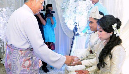 PM, Isteri Hadir P'kahwinan Anak Perempuan MB N.Sembilan