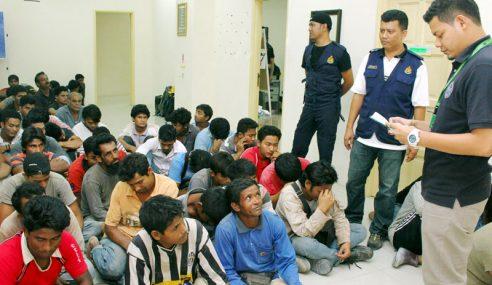 14 Warga Asing, Seorang Majikan Tempatan Ditahan Imigresen Kedah
