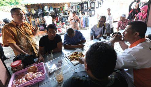 Zon Bebas Cukai, Lokasi Pertama Calon Bebas Berkempen