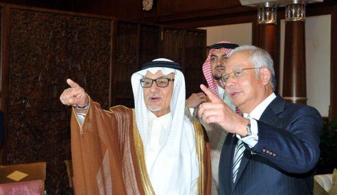 Najib Yakin Hubungan M'sia-Arab Saudi Terus Berkembang