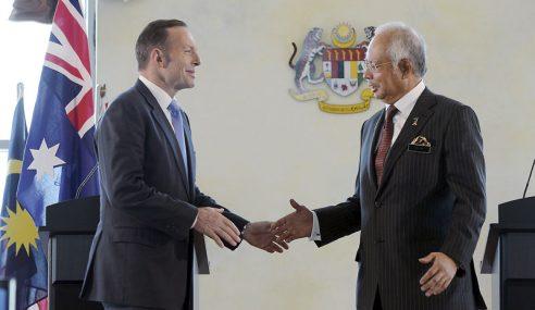 MH370 Dan MH17: Najib Rakam Penghargaan Komitmen Australia