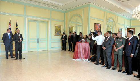 Najib Hos Makan Tengah Hari Untuk PM Australia Di Seri Perdana