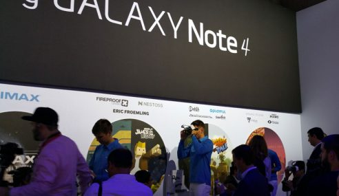 Samsung Galaxy Note 4 Tiba Di Malaysia