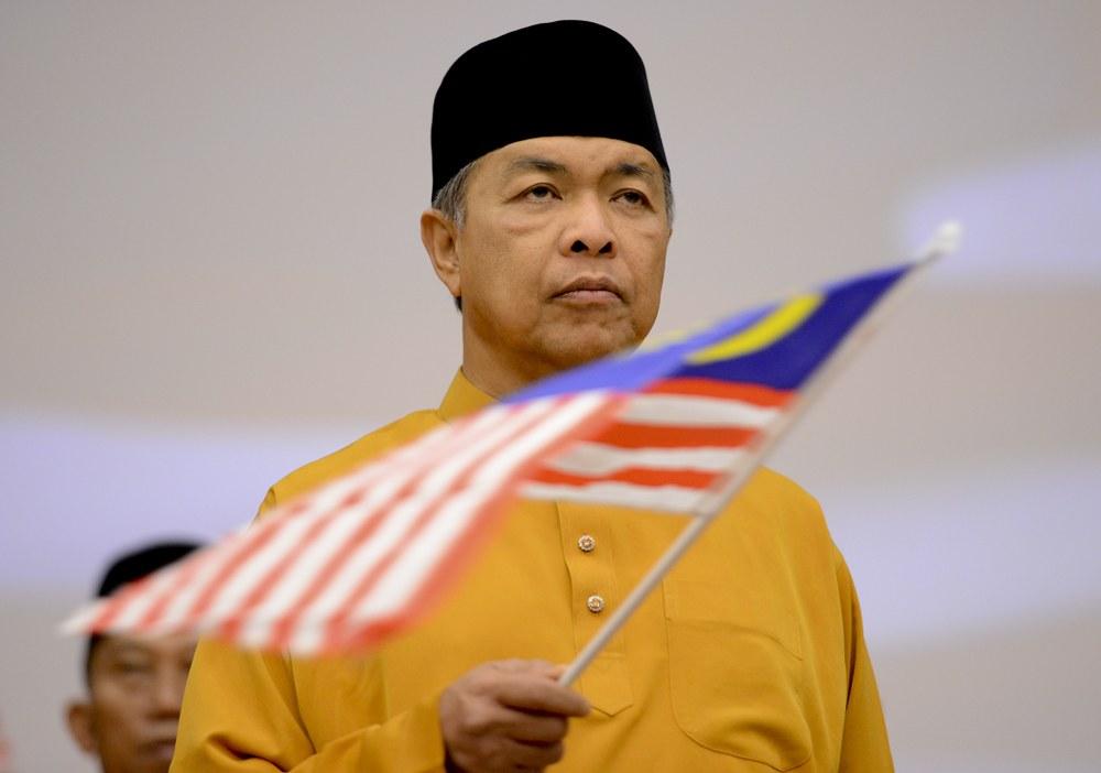 Ahmad Zahid Dianugerahkan Darjah Utama Negeri Melaka