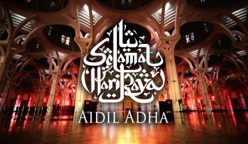 Umat Islam Malaysia Sambut Hari Raya Aidiladha 5 Oktober Ini