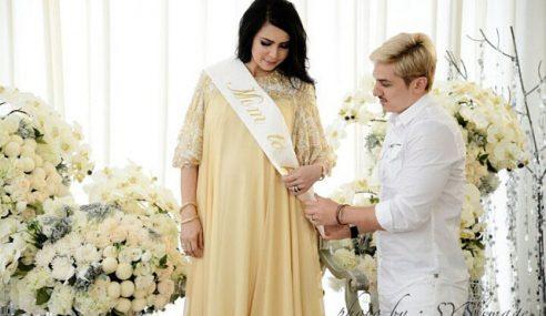 Gambar Majlis Baby Shower Che Ta, Sweet!