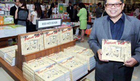 Kartunis Kampung Boy, Datuk Lat Terima Anugerah Merdeka