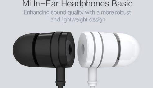 Xiaomi Menawarkan Mi In-Ear Headphones Pada Harga RM25