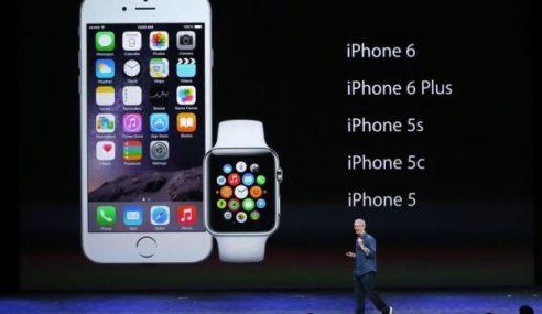 Apple Perkenal iPhone 6 Dengan Skrin Lebih Besar
