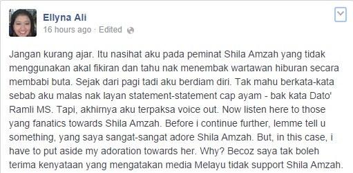 Jawapan 'Berbisa' Kepada Peminat Fanatik Shila Amzah
