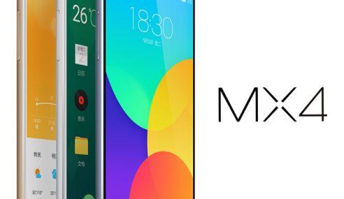 Meizu Melancarkan MX4 Dengan Kamera 20.7 Megapixel