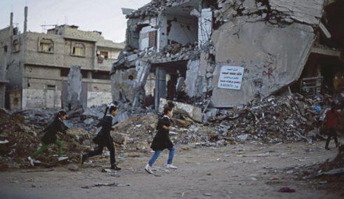 Setengah Juta Kanak-Kanak Gaza Kini Kembali Ke Sekolah