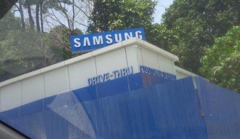 """Samsung Menawarkan Khidmat Pelanggan Dengan """"Drive-Thru""""?"""