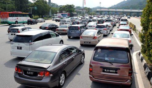 Aliran Trafik Di Lebuhraya Utara-Selatan Lancar