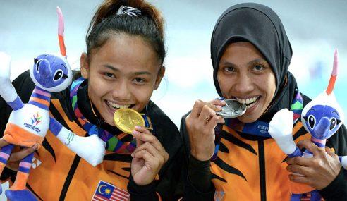 Siti Noor Radiah Sumbang Emas Pertama Malaysia