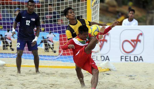 Malaysia Mula Langkah Kanan Kejohanan Bola Sepak Pantai AFF